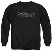 Constantine Hellblazer Logo Mens Crew Neck Sweatshirt