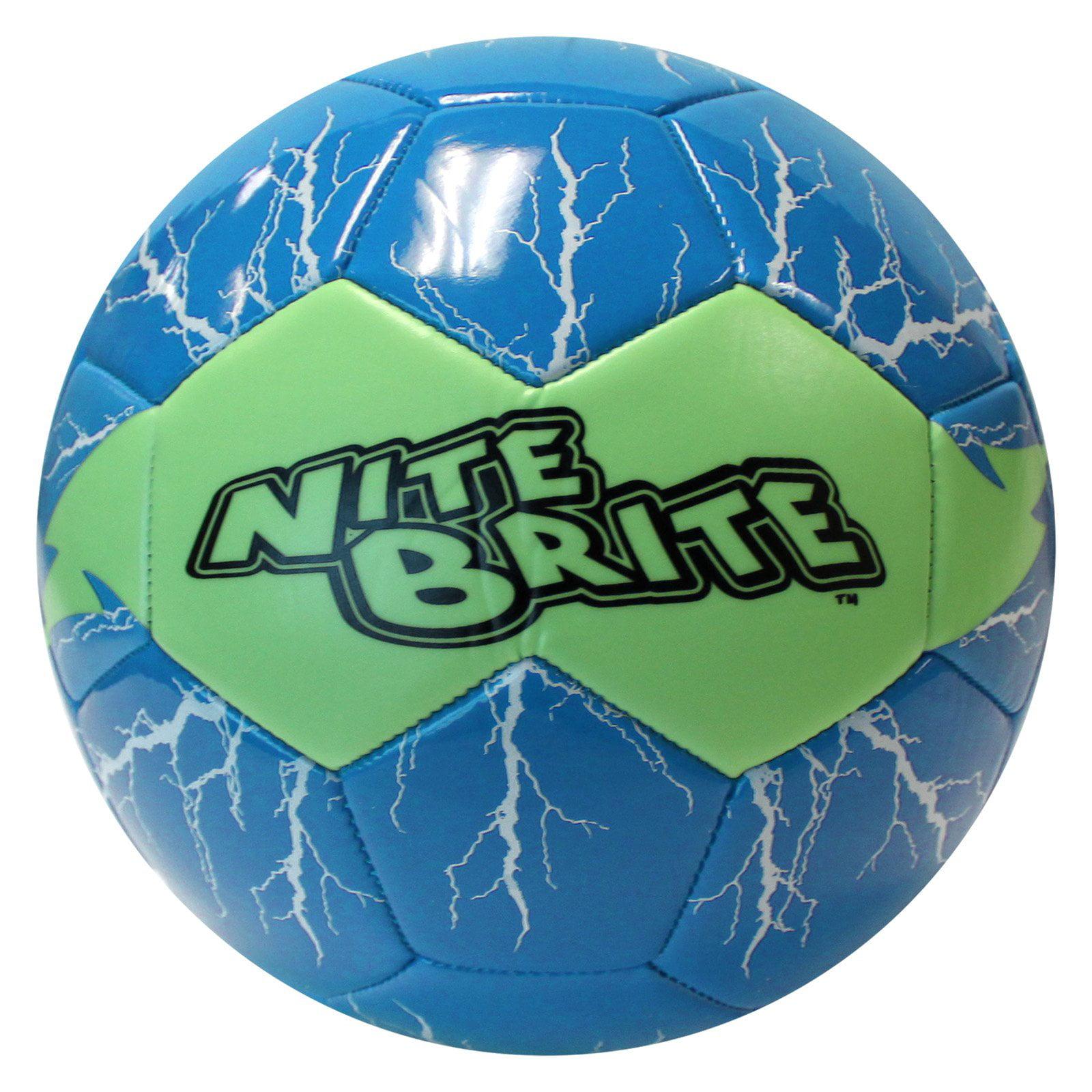 Baden Sports Blue Nite Brite Soccer Ball by Baden Sports Inc.