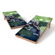 Tailgate Toss NFLPA Seahawks Richard Sherman Cornhole Game Set