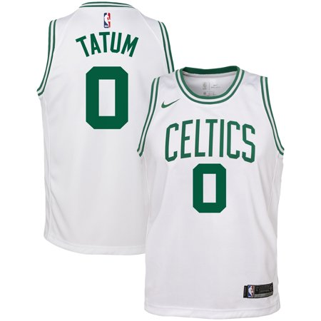 huge discount 605a8 21e61 Jayson Tatum Boston Celtics Nike Youth Swingman Jersey - White - Icon  Edition
