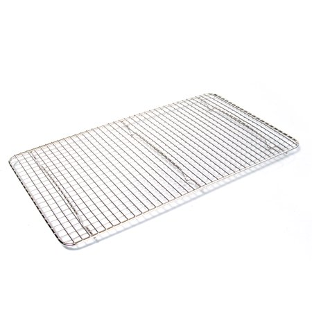 (Browne Basics Double Nickel Plated Rectangular Cooling Grate, 18 x 10 Inch)