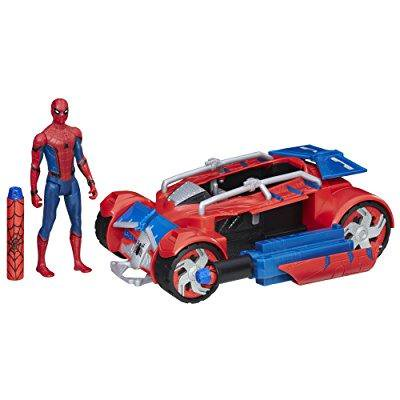 Spider Man  Homecoming Spider Man With Spider Racer