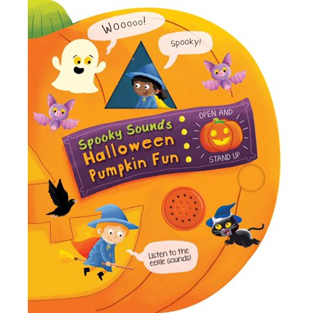 Spooky Sounds Halloween Pumpkin Fun (Board Book) - Halloween Spooky Sounds Mp3