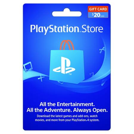 playstation store 20 gift card sony digital download walmart com