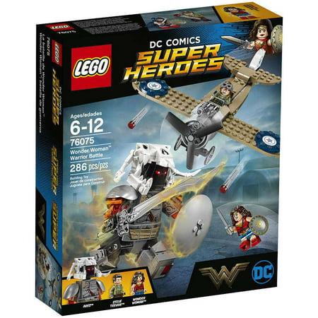 Dc Super Heroes Wonder Woman Warrior Battle Set Lego 76075 Walmartcom