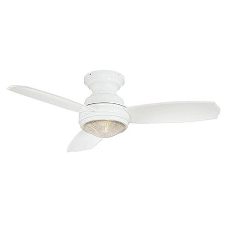 Hampton bay 184595 sovana ceiling fan with remote control and light kit white