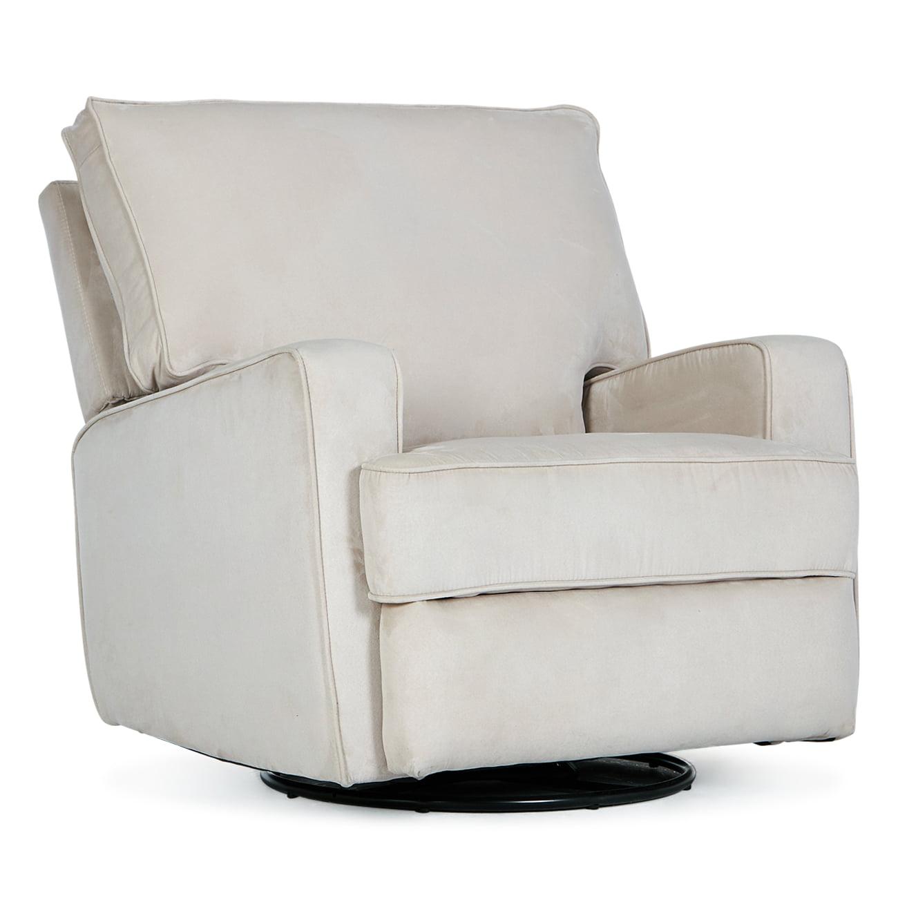 Belleze recliner chair upholstered beige walmart com