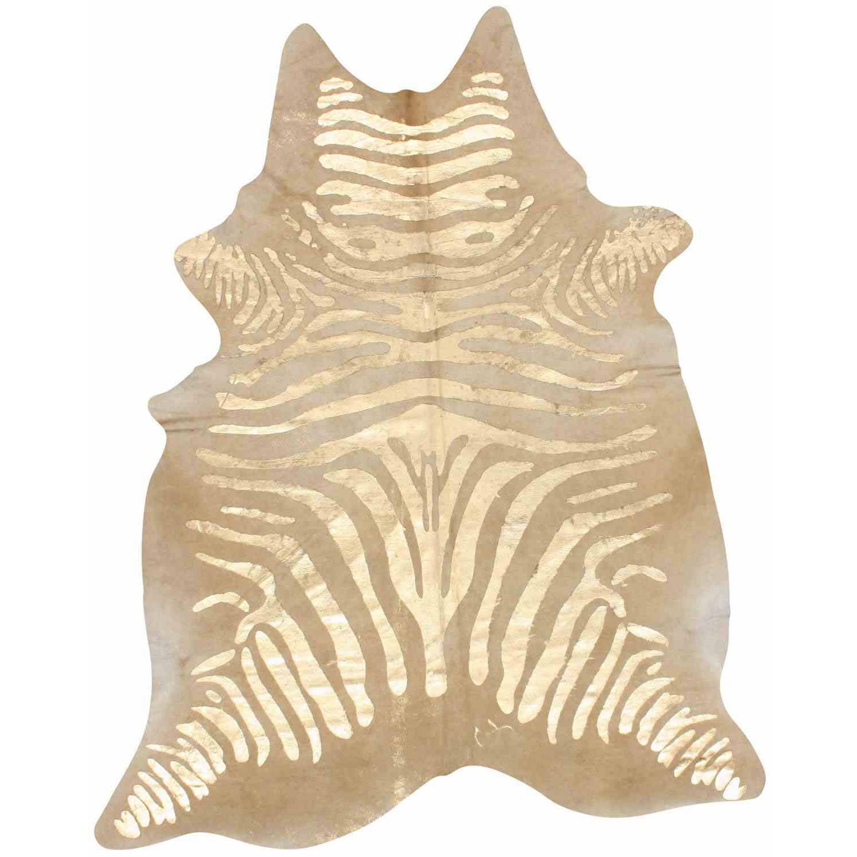 nuLOOM Hand Made Goldie Cowhide Area Rug