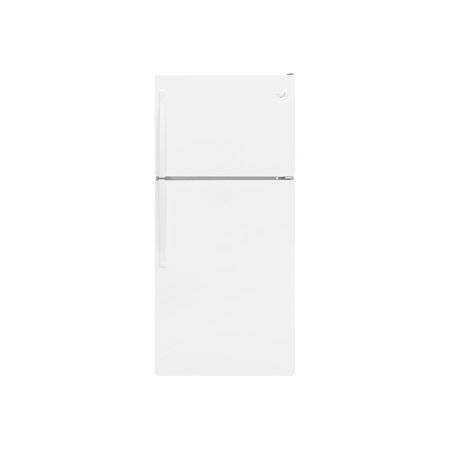 Whirlpool WRT318FZDW - Refrigerator/freezer - freestanding - width: 29.8 in - depth: 33.5 in - height: 65.7 in - 18.1 cu. ft - top-freezer -