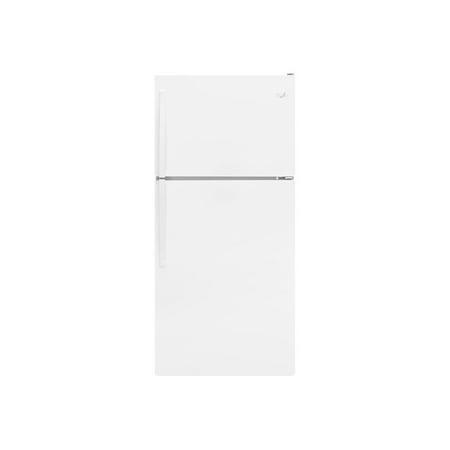 Whirlpool WRT318FZDW - Refrigerator/freezer - freestanding - width: 29.8 in - depth: 33.5 in - height: 65.7 in - 18.1 cu. ft - top-freezer -