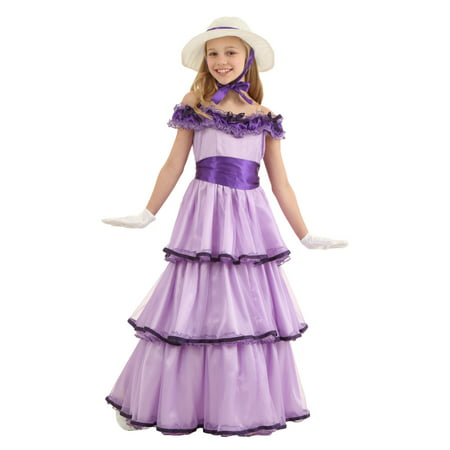 Child Deluxe Southern Belle Costume (Southern Belle Child Halloween Costume)