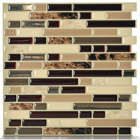- Peel and Stick Decorative Mosaic Wall Tile 10