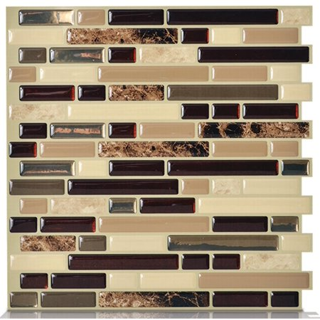 Peel and Stick Decorative Mosaic Wall Tile 10