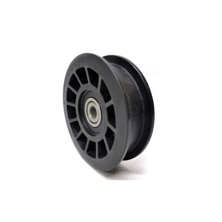 Husqvarna Replacement Flat Idler Pulley (910 Offset) for 2754 GLS, YTH22V42 & Other Lawn Mowers / 532194327, 194327