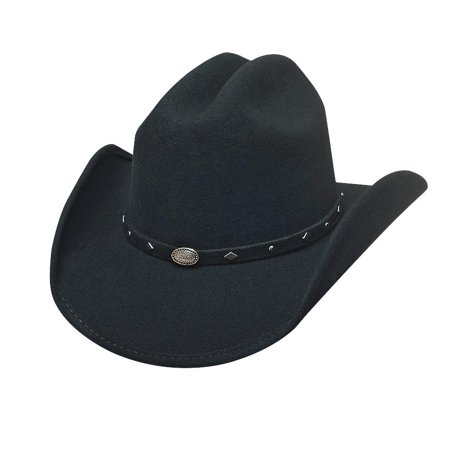 Bullhide Hats 0685Bl Lil' Pardner Mass Gallop Small Black Cowboy Youth Hat](Small Cowboy Hats)
