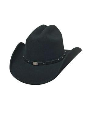 33e4ea8dbc1 Bullhide Hats 0685Bl Lil  Pardner Collection Mass Gallop Black Cowboy Hat