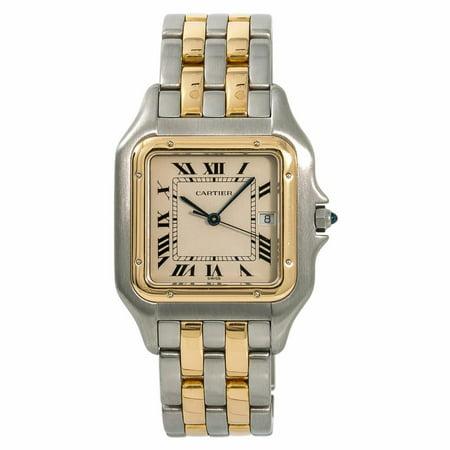 Pre-Owned Cartier Panthere De Cartier 187957 Steel  Watch (Certified Authentic & Warranty)