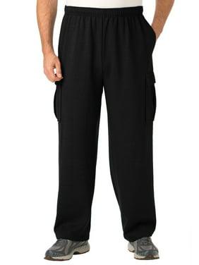 Kingsize Men's Big & Tall Fleece Cargo Sweatpants