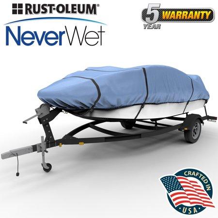 Rust-Oleum NeverWet 1200 Denier Boat Cover, Size BT-1: 12'-14' (144