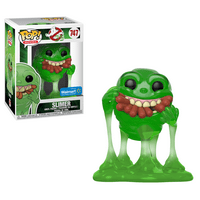 Funko POP! Movies: GB - Slimer w/Hot Dogs (Translucent) - Walmart Exclusive