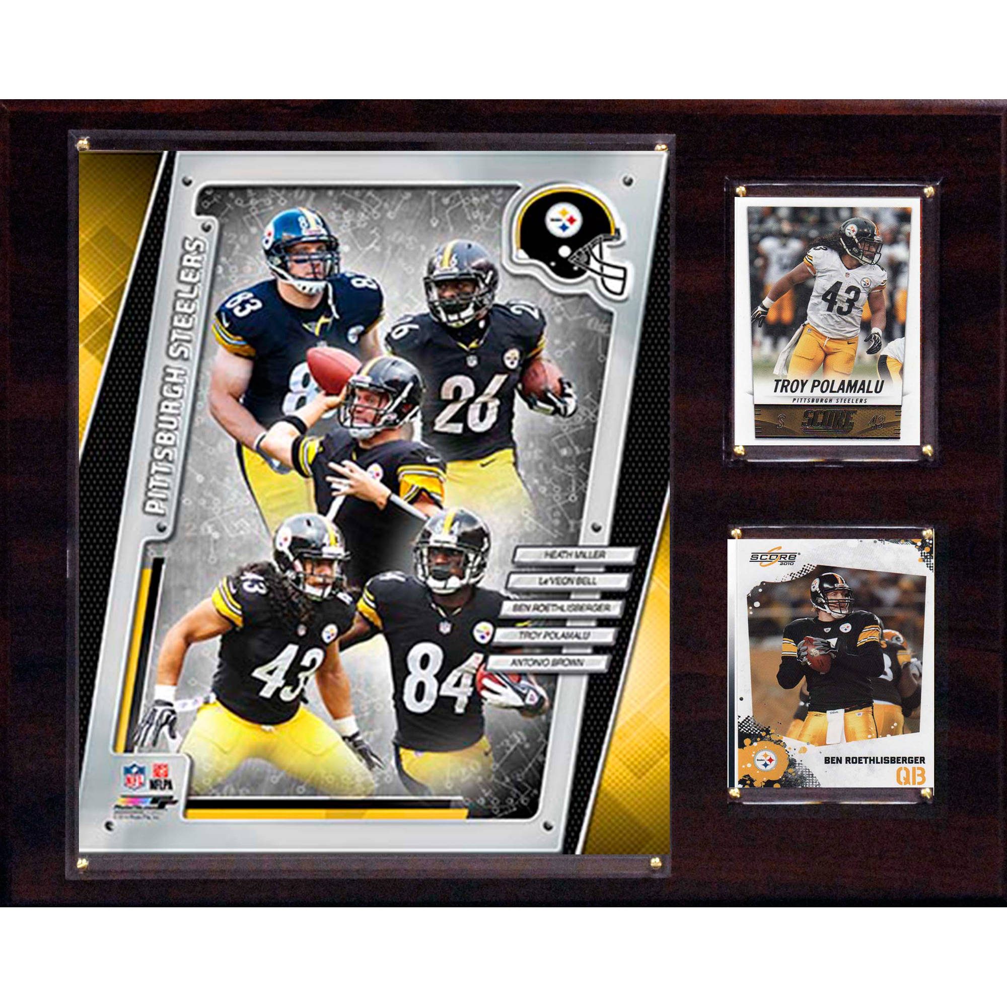 C&I Collectables NFL 12x15 Pittsburgh Steelers 2014 Team Plaque