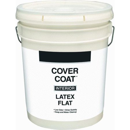 Cover Coat Latex Flat Interior Wall Paint