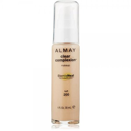 Almay Clear Complexion Makeup, Buff, 1 Fl Oz Almay Clear Complexion Makeup