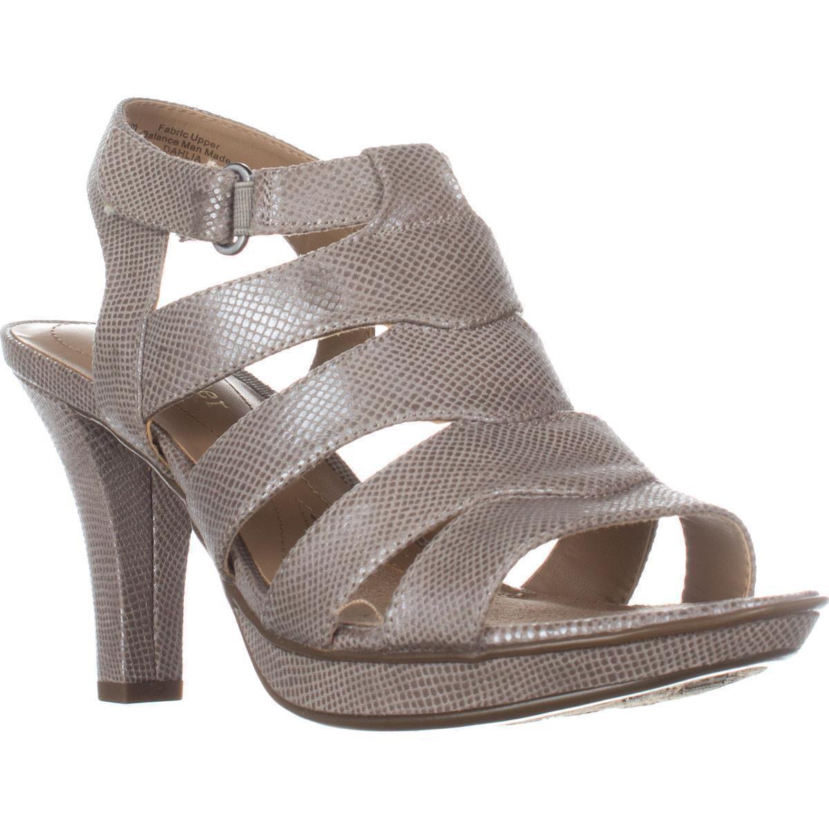 Womens Naturalizer Dahlia Gladiator Sandals, Grey by Naturalizer