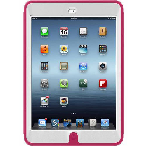 OtterBox Defender Series Case for Apple iPad mini with Retina Display, Papaya