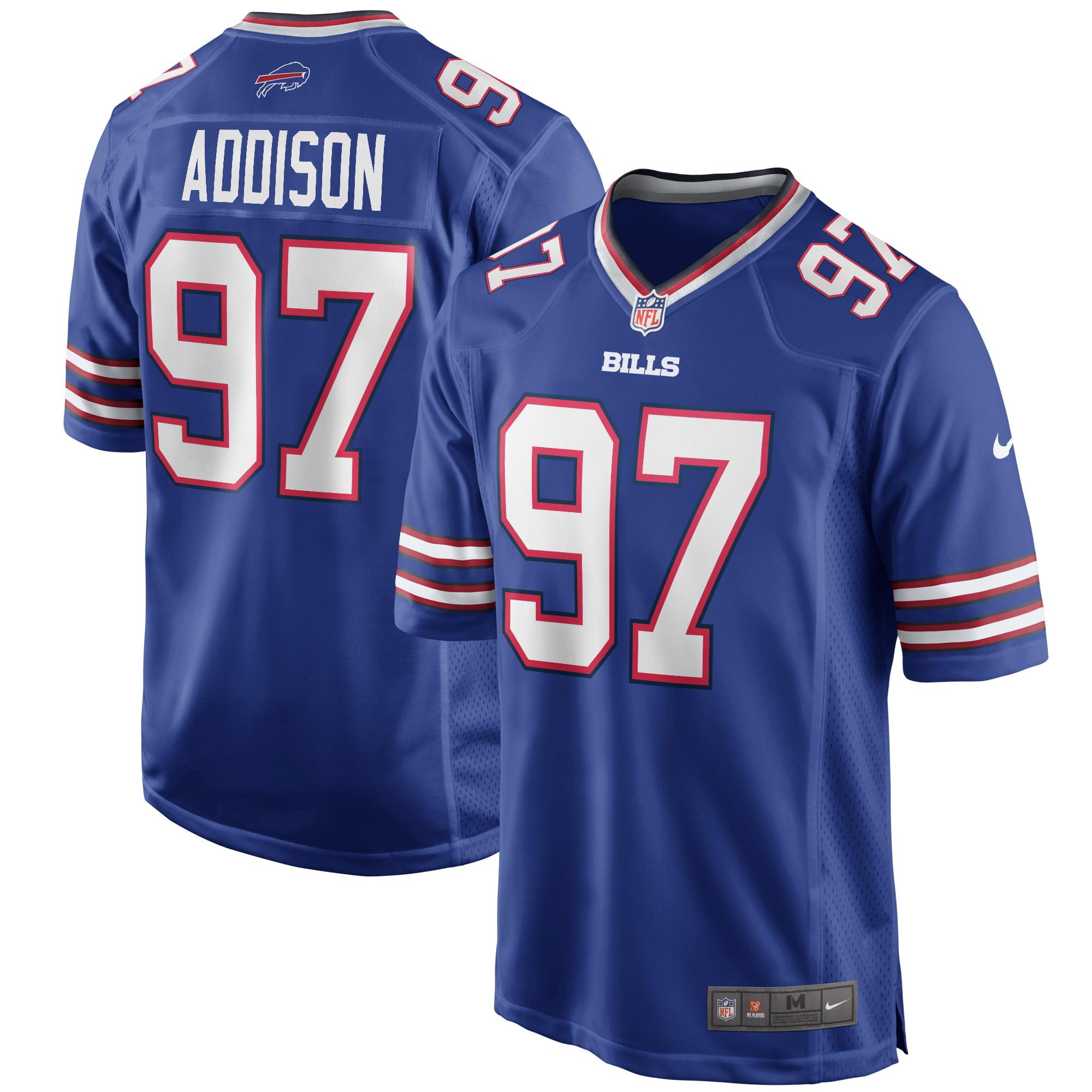 Mario Addison Buffalo Bills Nike Game Player Jersey - Royal - Walmart.com