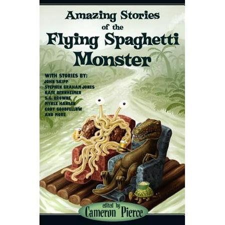 Flying Spaghetti Monster Emblem - Amazing Stories of the Flying Spaghetti Monster