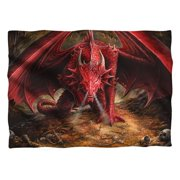 Trevco AS119FB-PLO1-0 Anne Stokes & Dragons Lair Front & Back Print-Pillow Case, White - 20 x 28 in.
