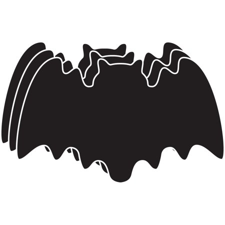Large Single Color Cut-Out - Bat (Bat Cut Outs)