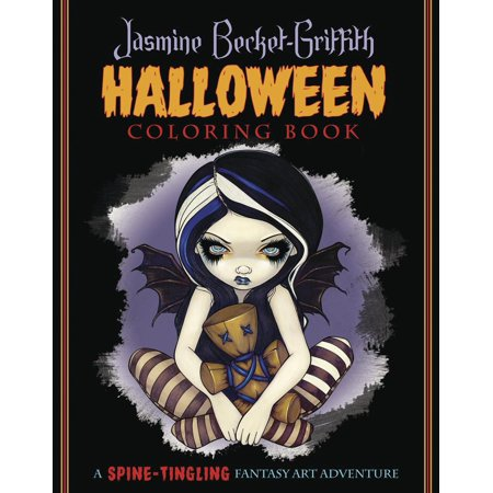 Jasmine Becket-Griffith Halloween Coloring Book : A Spine-Tingling Fantasy Art Adventure - Halloween Coloring Pages Kids