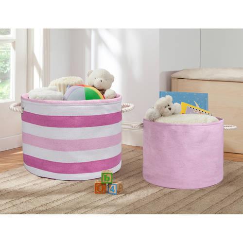 Delta Children 2-Piece Nursery Storage Set, Multiple Colors