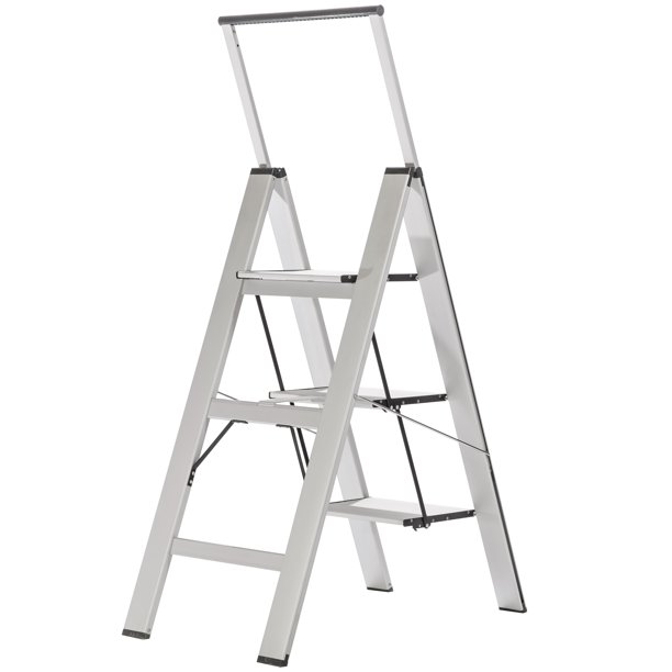 Sl3h Light 3 Step Slimline Step Ladder Light Medium Duty Walmart Com Walmart Com