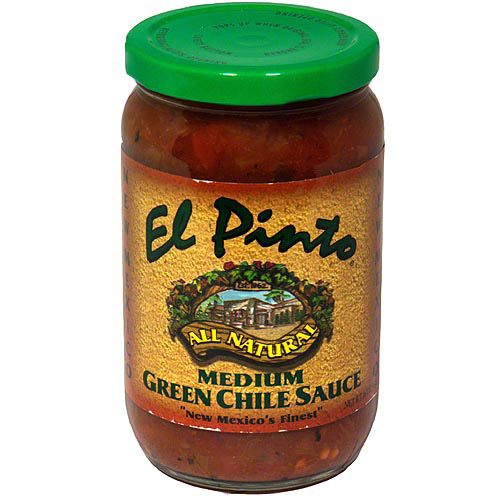 El Pinto Medium Green Chile Sauce, 16 oz, (Pack of 6)