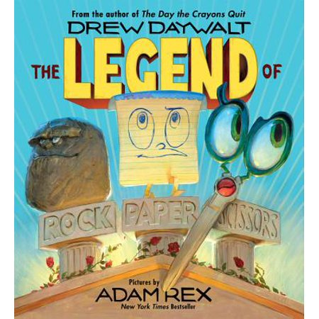 The Legend of Rock Paper Scissors (Hardcover)