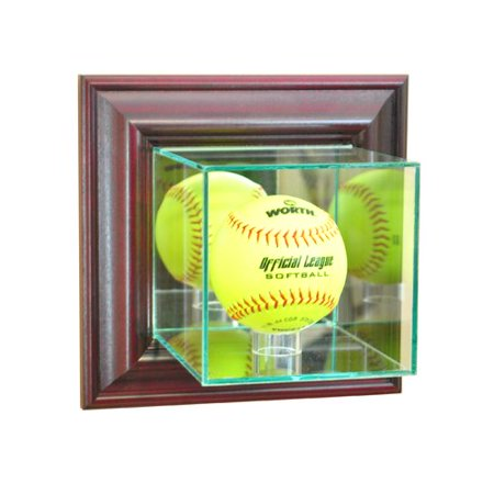 - Perfect Cases and Frames Wall Mounted Softball Display Case