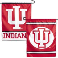 "Indiana Hoosiers WinCraft 12"" x 18"" Double-Sided Garden Flag - No Size"