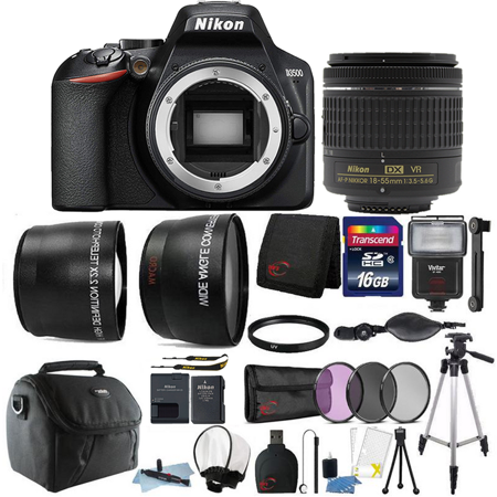 Nikon D3500 24.2MP Digital SLR Camera with Nikon AF-P DX 18-55mm Lens + Best Accessory (Best Digital Camera Price In India)