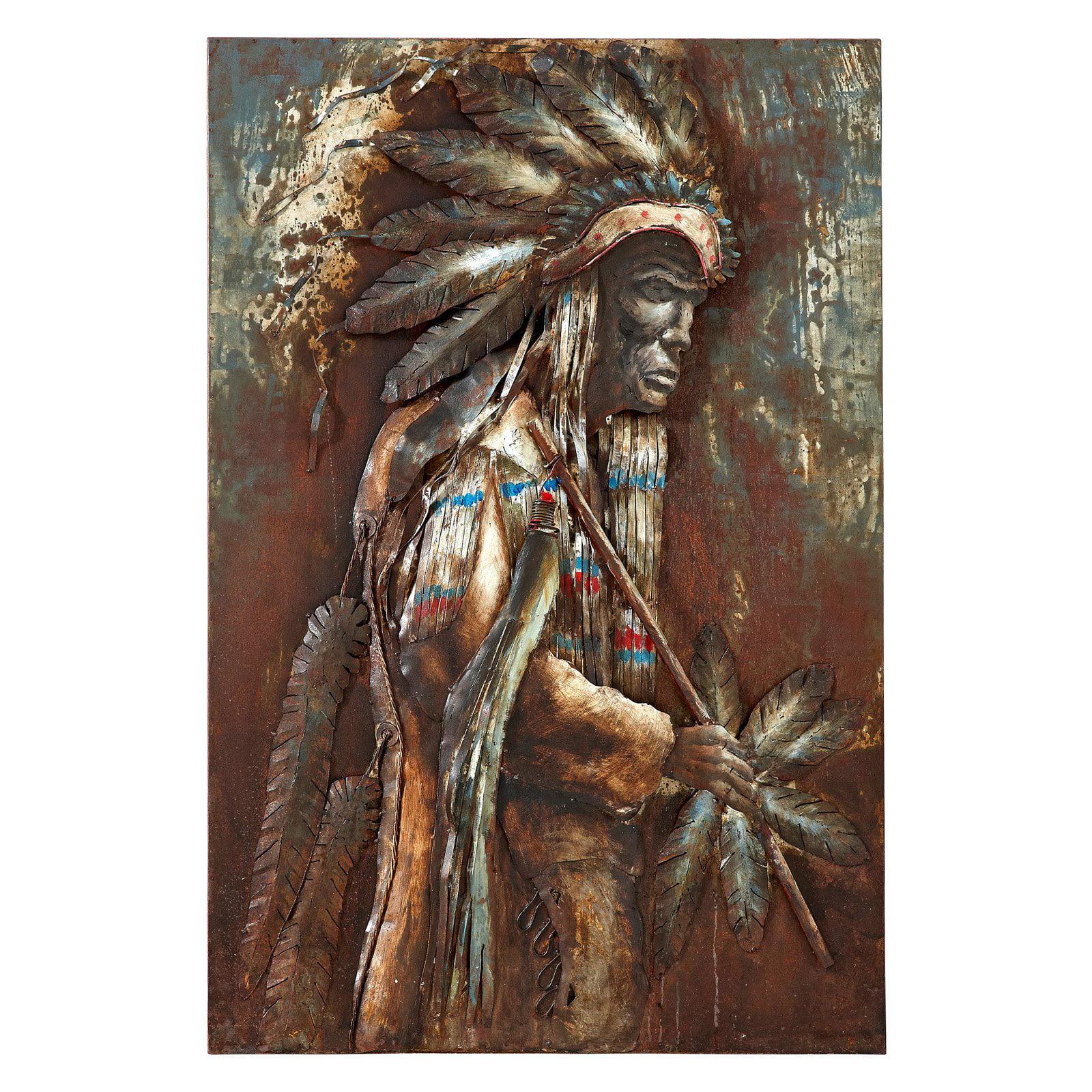 Majestic Native American Indian Wall Art