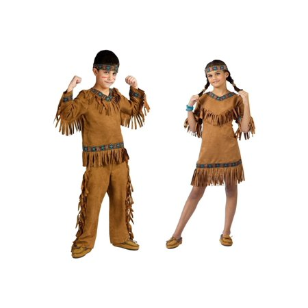 Native American Boys and Girls Costumes (Native Girl Costume)
