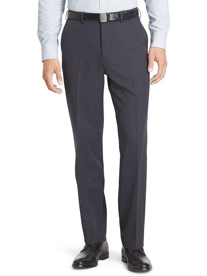 Van Heusen No-Iron Flat-Front Traveler Dress Pants