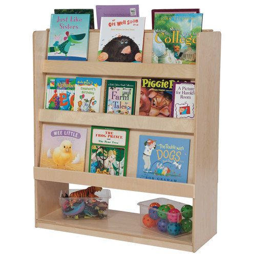 Wood Designs Deluxe Double Sided Book Display
