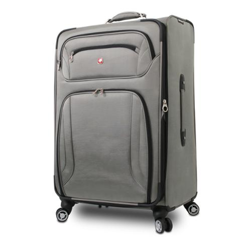 Group III International Wenger 28-inch Large Expandable Spinner Upright Suitcase