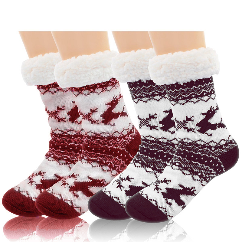 Details about  /Soft Socks Fluffy Sock Warm Cosy Loungewear Floor Gift Mid calf Boot sock