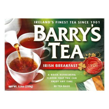 Barrys Irish Breakfast Tea 80's, 80 BG (Pack of 6)