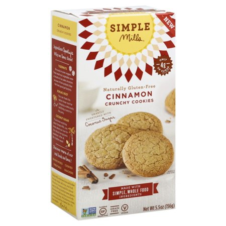 Simple Mills® Crunchy Cinnamon Cookies 5.5 oz. - Simple Halloween Cookies