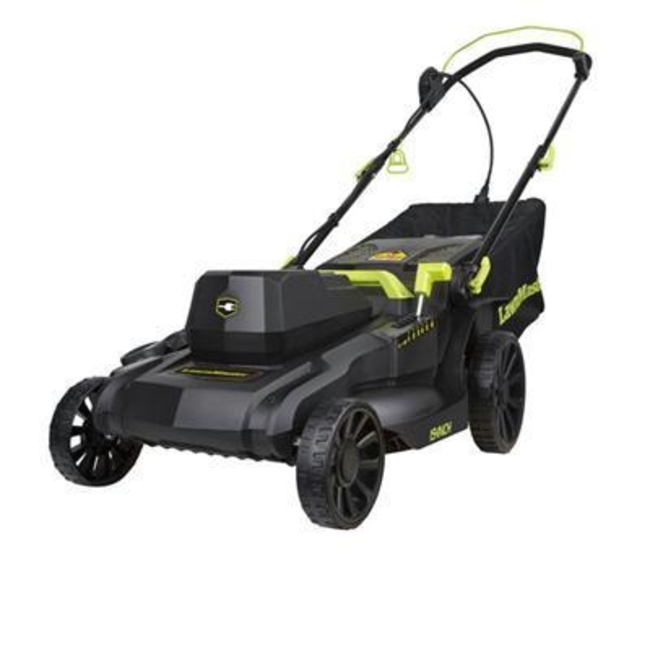 "Cleva LM 18"" Electric Lawn Mower 12.5 amps by Vacmaster"